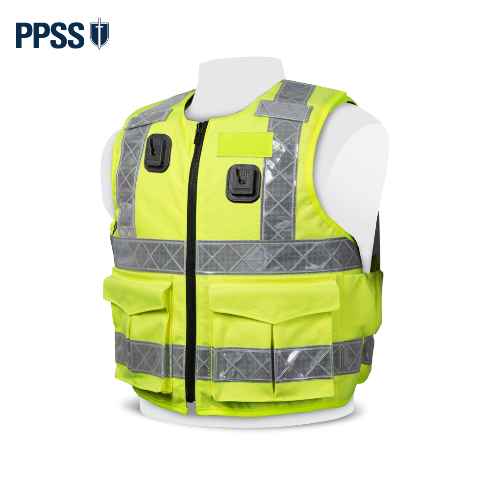 PPSS Stab Resistant Vests - High Visibility