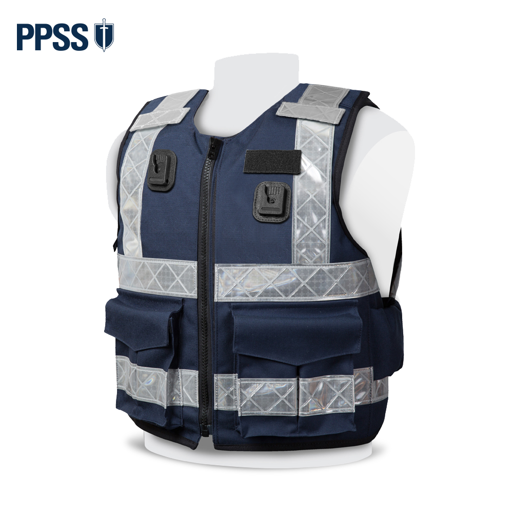 PPSS Stab Resistant Vests - Navy Blue