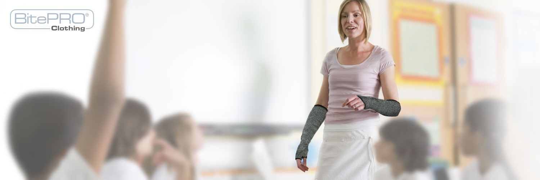 BitePRO Bite Resistant Clothing Teacher Arm Guard