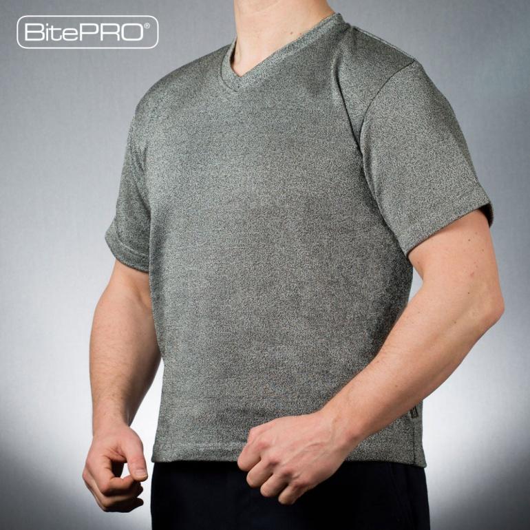 BitePRO® Bite Resistant V-Neck T-Shirt