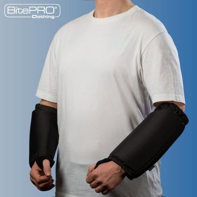Bite Resistant Arm Guards V1 -  Added Protection (Black)