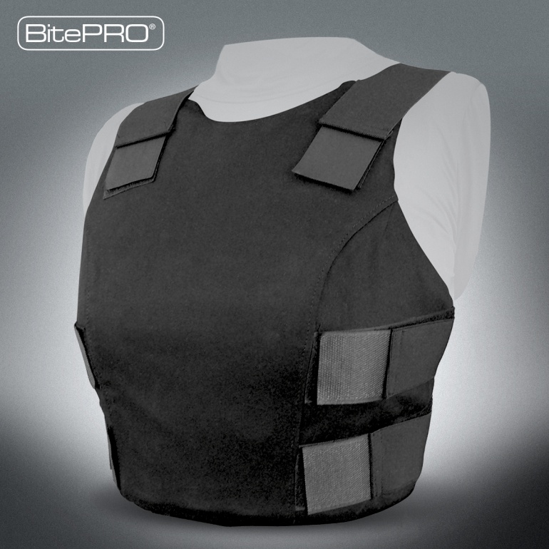 BitePRO® Bite Resistant Body Armour Font Only