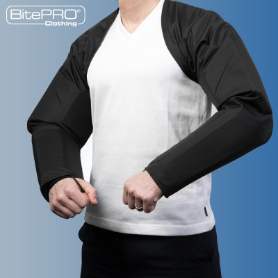 Bite Resistant Arm Guards - V4 + Added Protection