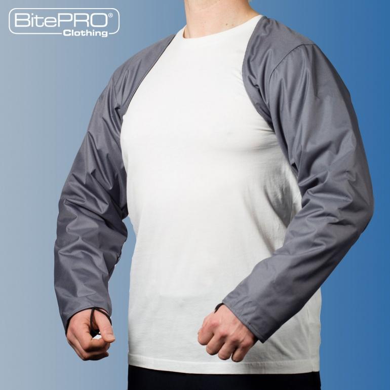 Bite Resistant Arm Guards v4 Grey