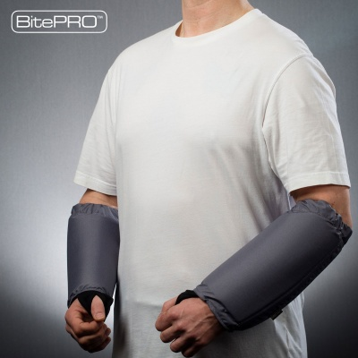 Arm Guards v1 Added Protection (grey)