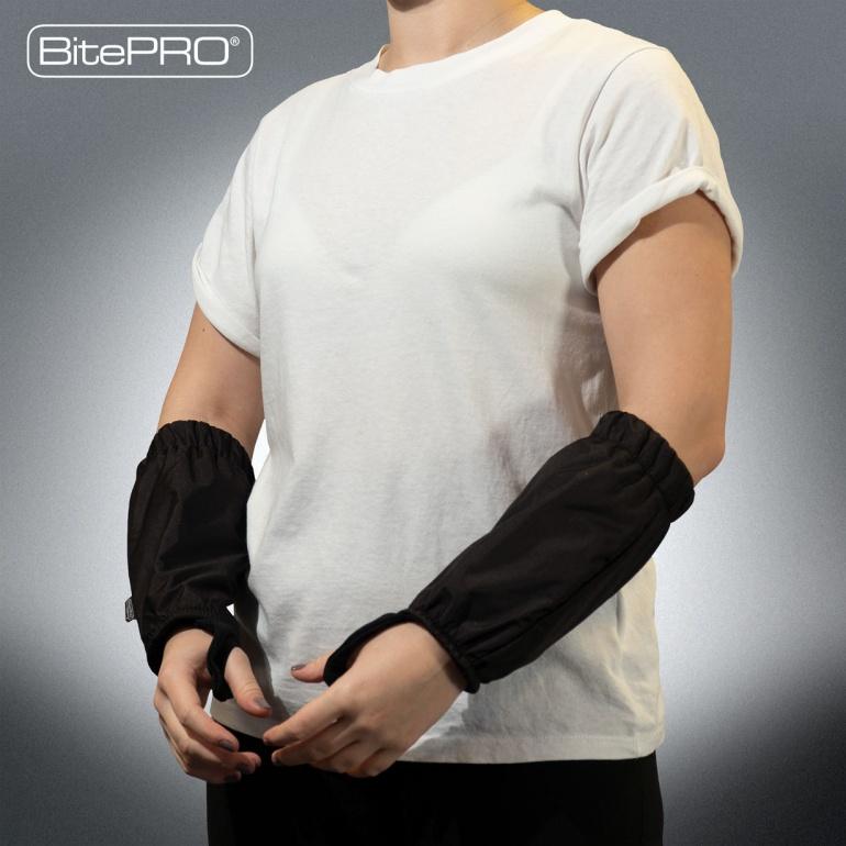BitePRO®  Bite Resistant Arm Guards V1 (Black)