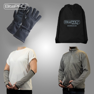 BitePRO® Essentials Grab Bag: full upper body protection from challenging behaviours