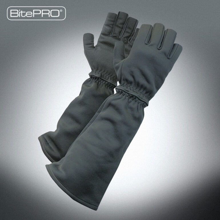 BitePRO® Bite Resistant Gloves - Fingerless