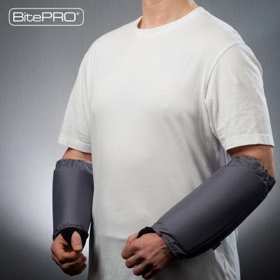 BitePRO®  Bite Resistant Arm Guards V1 -  Added Protection (Grey)