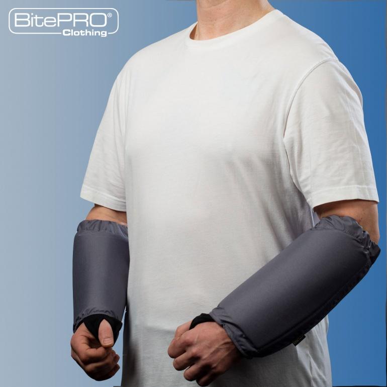 Bite Resistant Arm Guards V1 -  Added Protection (Grey)
